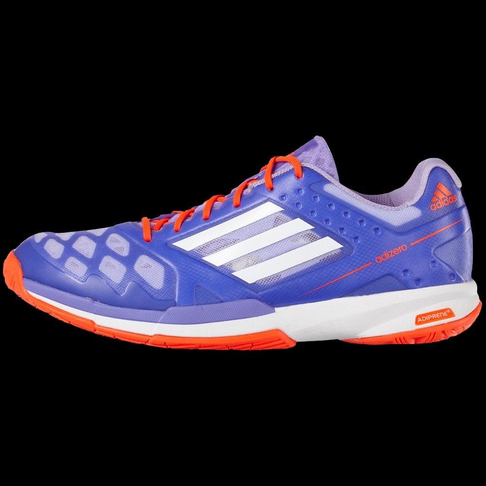 Chaussures de badminton Adidas Adizero Feather lady violette