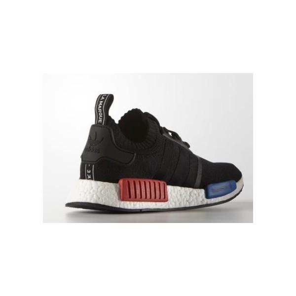 Vente de adidas nmd noir bleu rouge Soldes