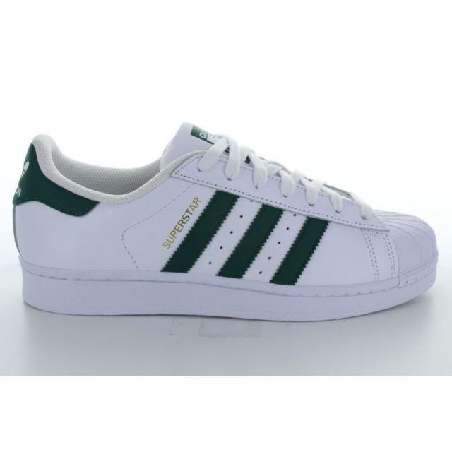 Vente de adidas original superstar vert Soldes