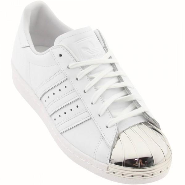 Vente de adidas superstar blanc metal Soldes
