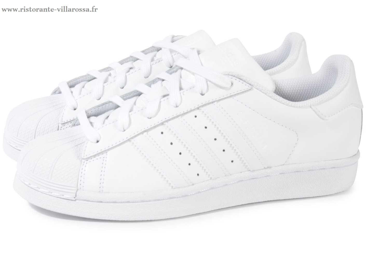 Vente de adidas superstar blanche pas cher femme Soldes