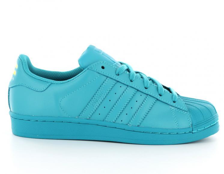Vente de adidas superstar femme bleu turquoise Soldes
