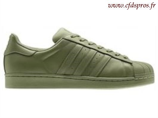adidas superstar hommes kaki