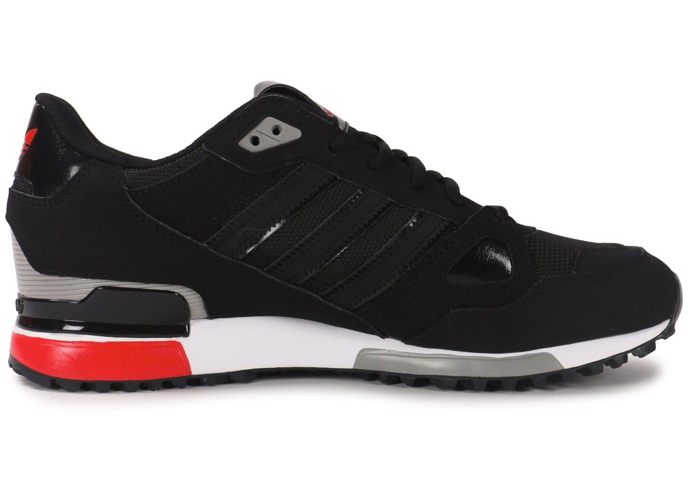 Vente de adidas zx 750 noir et rouge Soldes