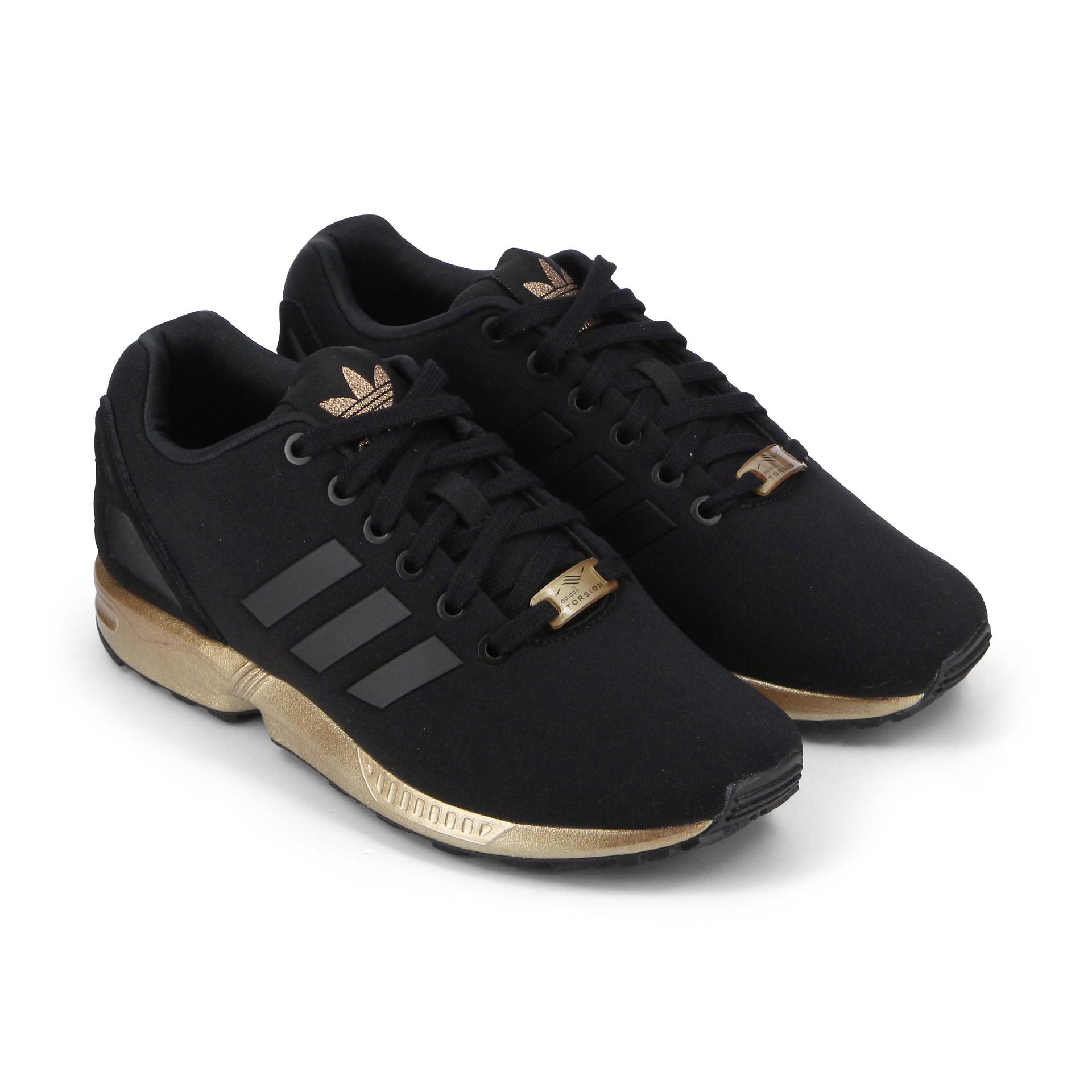 adidas zx flux noir et or prix