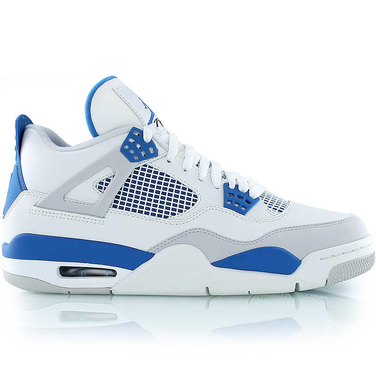 air jordan blanche bleu