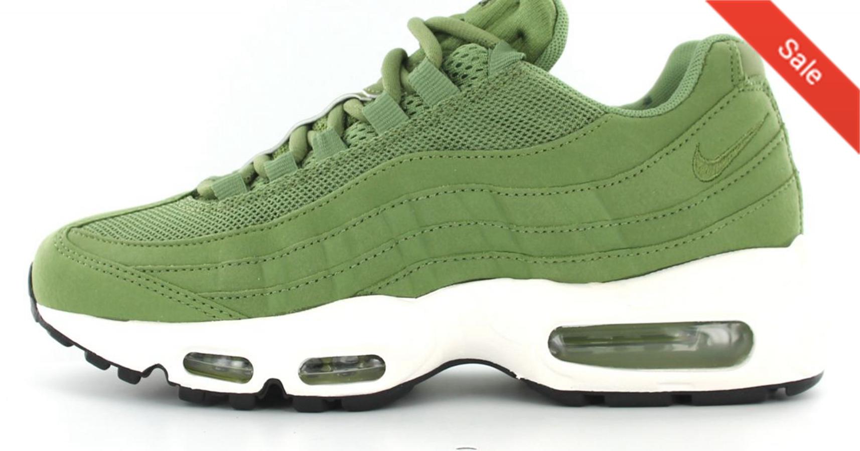 air max femme vert kaki