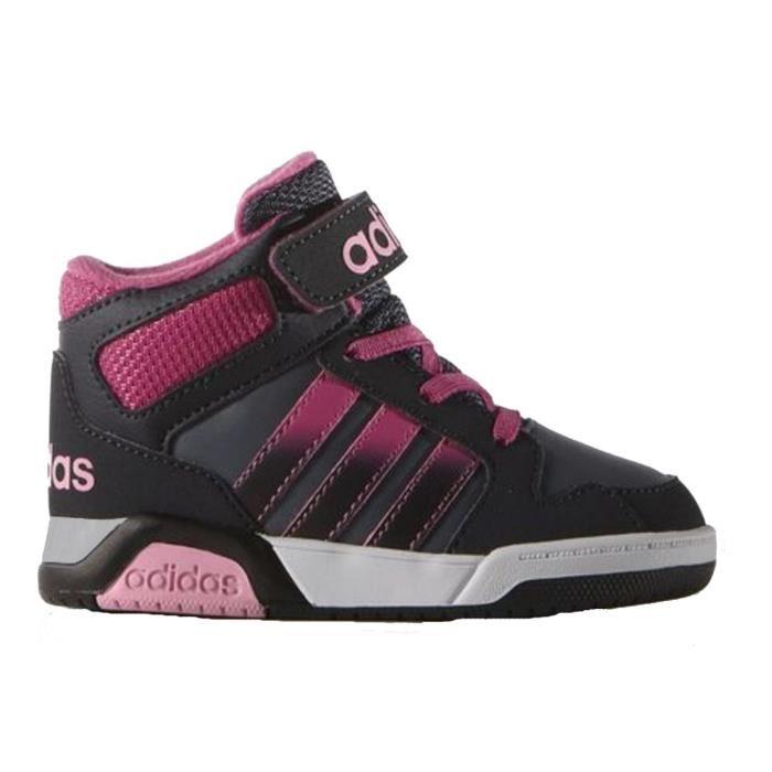 Vente de basket adidas noir fille Soldes