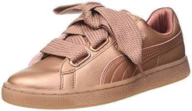 basket rose puma femme