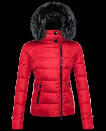 manteau rouge femme hiver 2018 pas cher