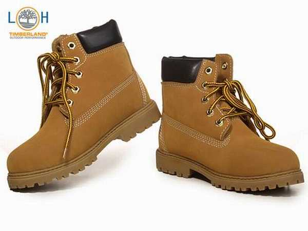 fausses timberland