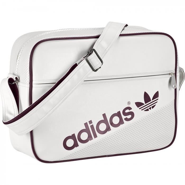 Sacoche Adidas Pas Soldes De Blanc Vente Cher ZOkuXPi